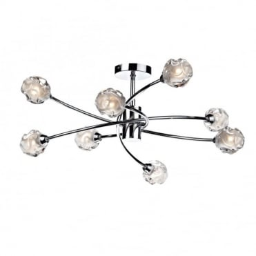 SEATTLE - Modern Double Insulated Chrome Light For Low Ceilings