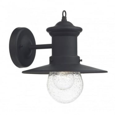 SEDGEWICK - Exterior Black Downward Facing Outdoor Wall Light