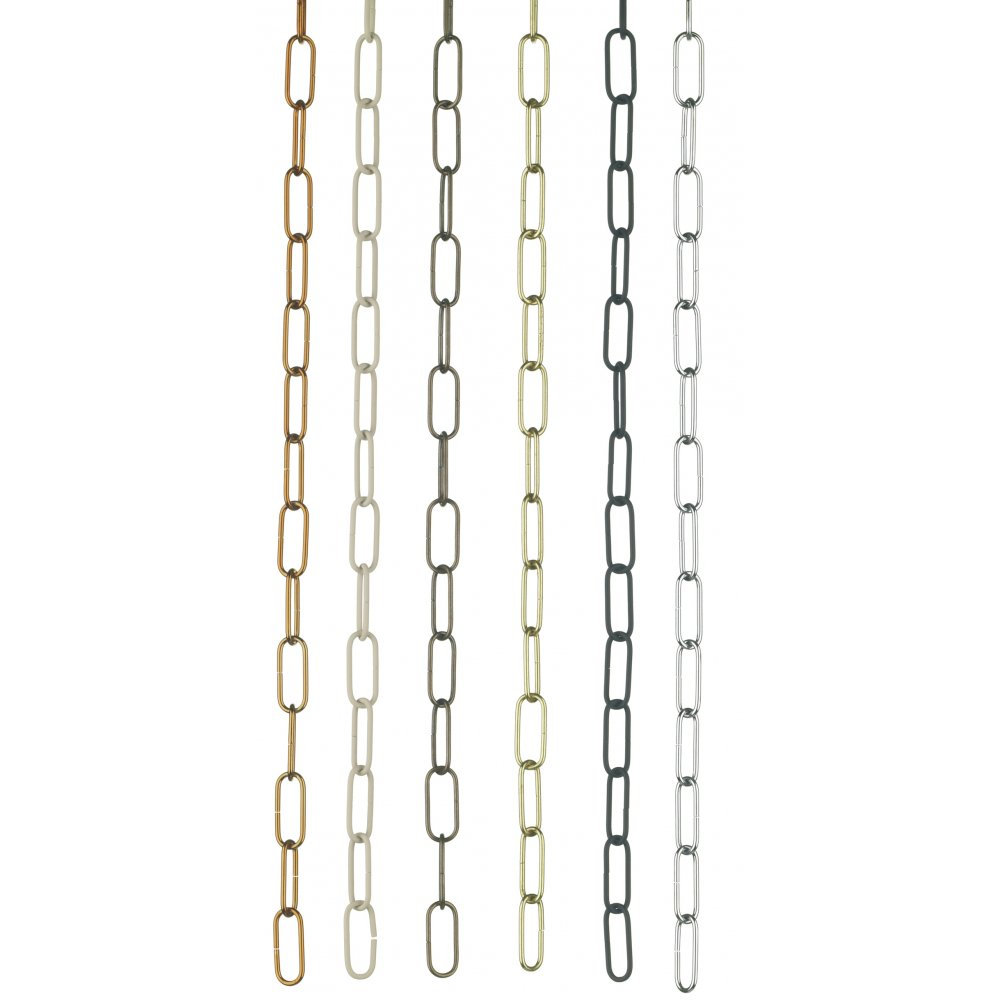 Lighting chain any length cut to order to nearest 50cm cream chain suspension chain cream link chain for chandeliers and other light fittings arubaitofo Choice Image