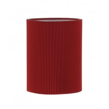 TUSCAN - Wall Light Shade Red LAST ONE AVAILABLE!