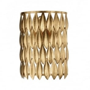 VOLCANO - Leaf Design Gold Wall Light