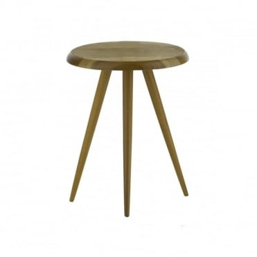 WYCOMBE - Side Table Round Brown Brown