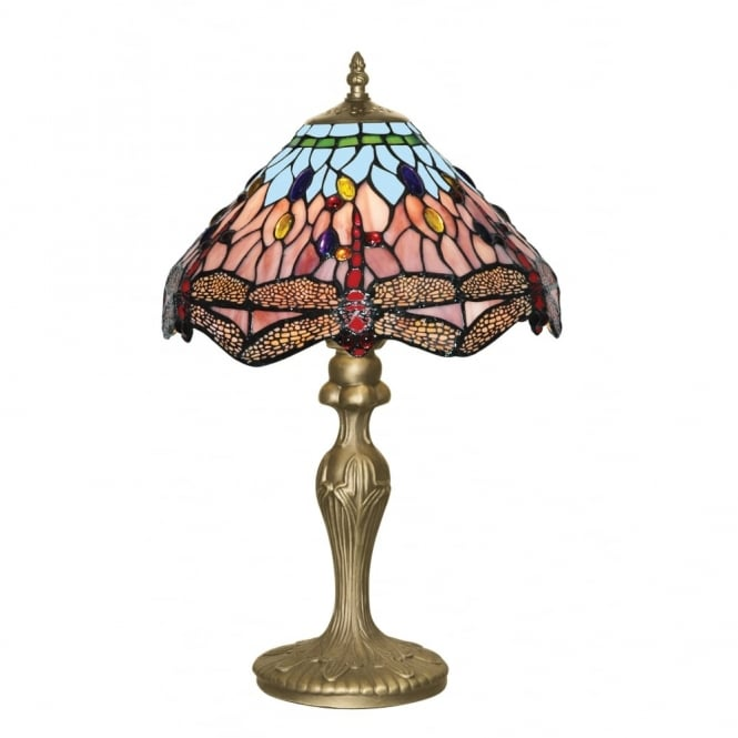 DRAGONFLY - 47Cm Tiffany Table Lamp