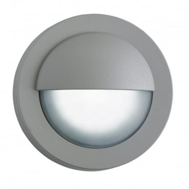LED - Exterior LED Outdoor Round Bulkhead Grey