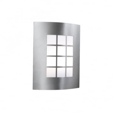 OUTDOOR AND PORCH - Exterior Wall Light Stainless Steel 1 Light