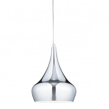 YURT - Highly Polished Chrome Ceiling Pendant