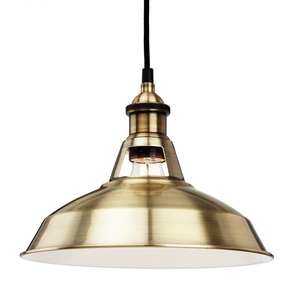albany pendant antique brass lighting and lights uk