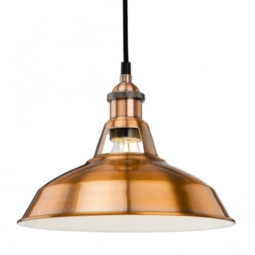ALBANY Pendant, Brushed Copper