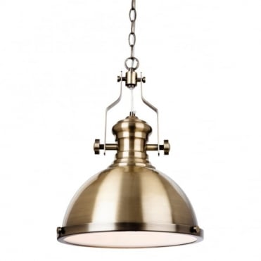 ALBION - Pendant Antique Brass