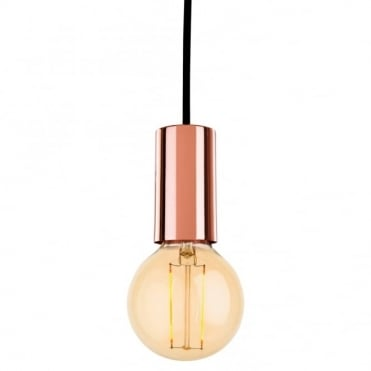 BERKELEY - Pendant With LED Lamp Copper
