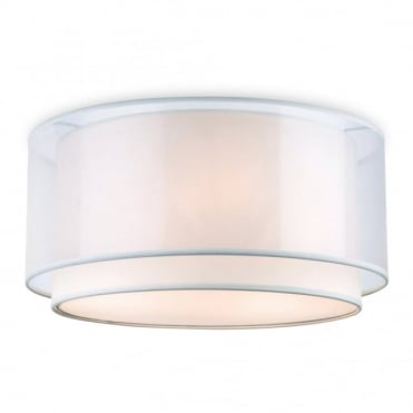 CHICAGO - Semi Flush Ceiling Cream