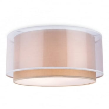 CHICAGO - Semi Flush Ceiling Taupe