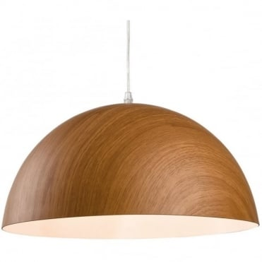 COAST - Brown Wood Ceiling Pendant