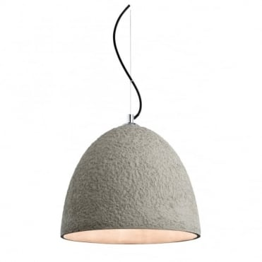 CONCRETE Pendant, Natural Textured Concrete
