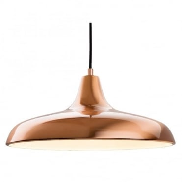 CURTIS Pendant, Brushed Copper