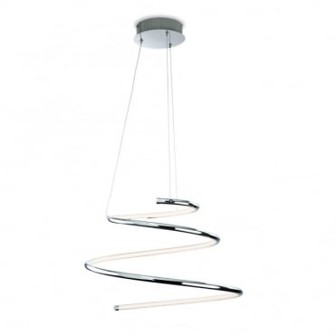 GEMINI LED Pendant, Chrome
