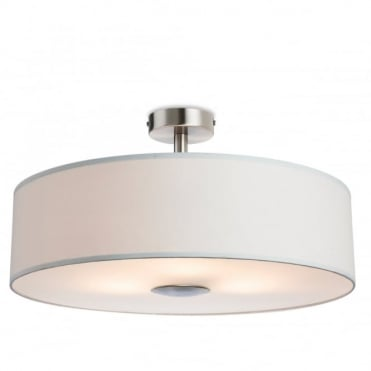 MADISON Semi Flush Fitting, Cream