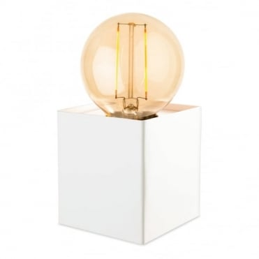 RICHMOND - Table Lamp With LED Lamp White