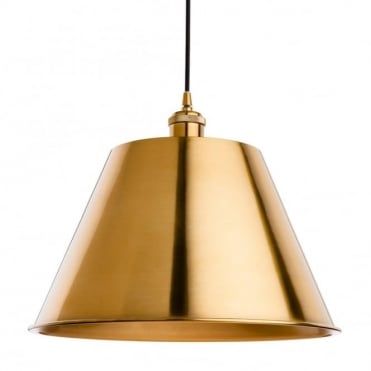 SAVOY Pendant, Antique Gold