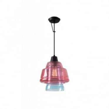 COLOR - 1 X E27 Max.60W Matte Black Ceiling Pendant