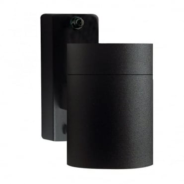 TIN - Modern Exterior Wall Light Black