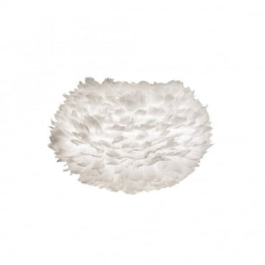 EOS - Feather Shade White 45Cm Dia