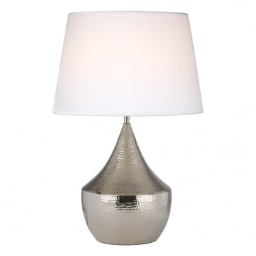 VORANA Table Lamp Nickel Base Only