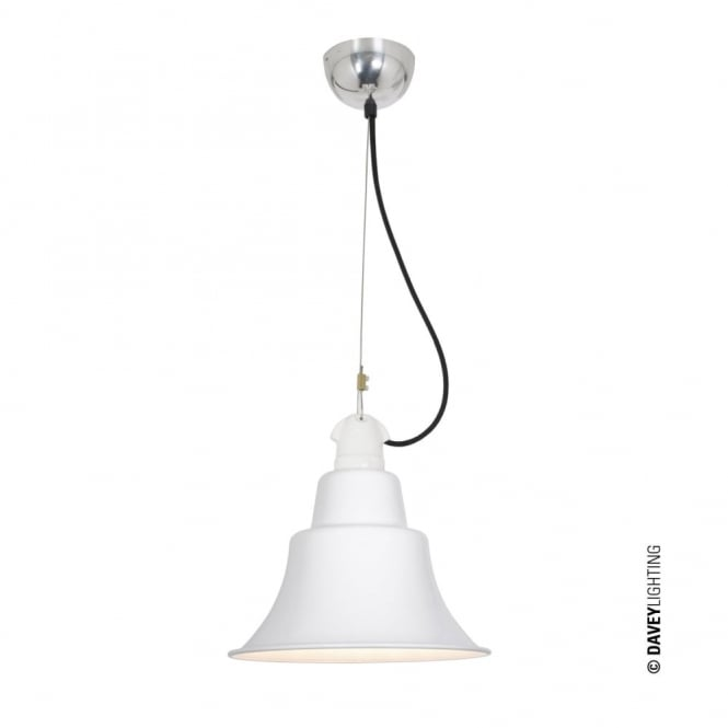 ZOE - Industrial Ceiling Pendant White